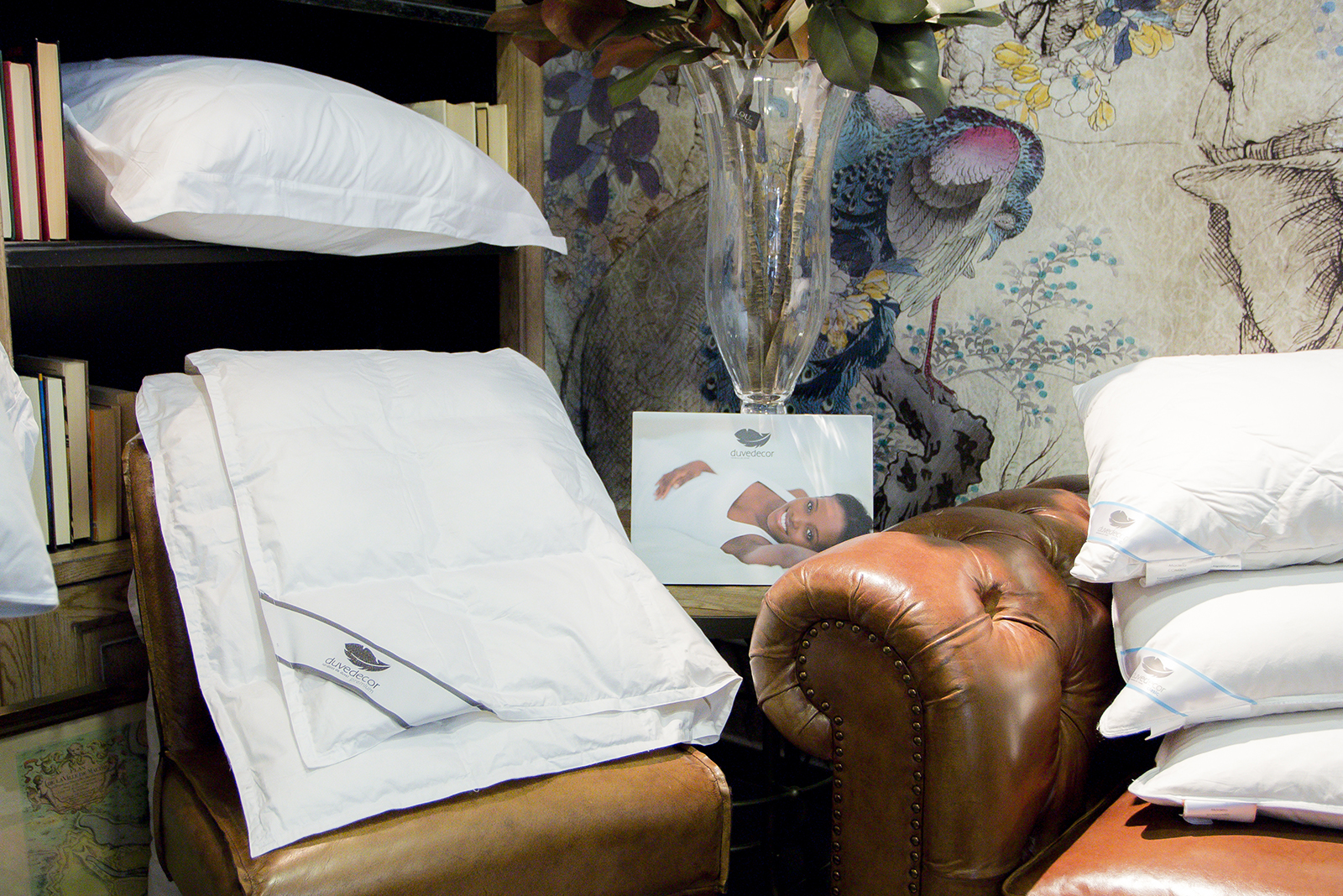 Duvedecor Nórdico y almohadas
