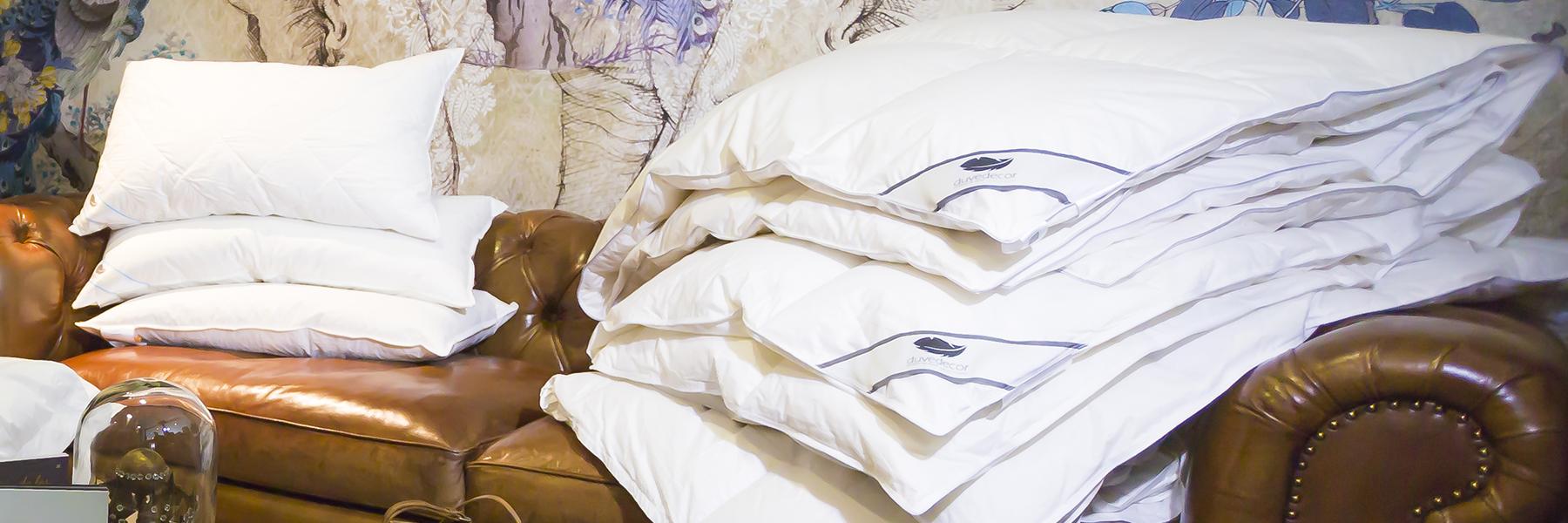 Duvedecor almohadas y relleno nórdico plumón