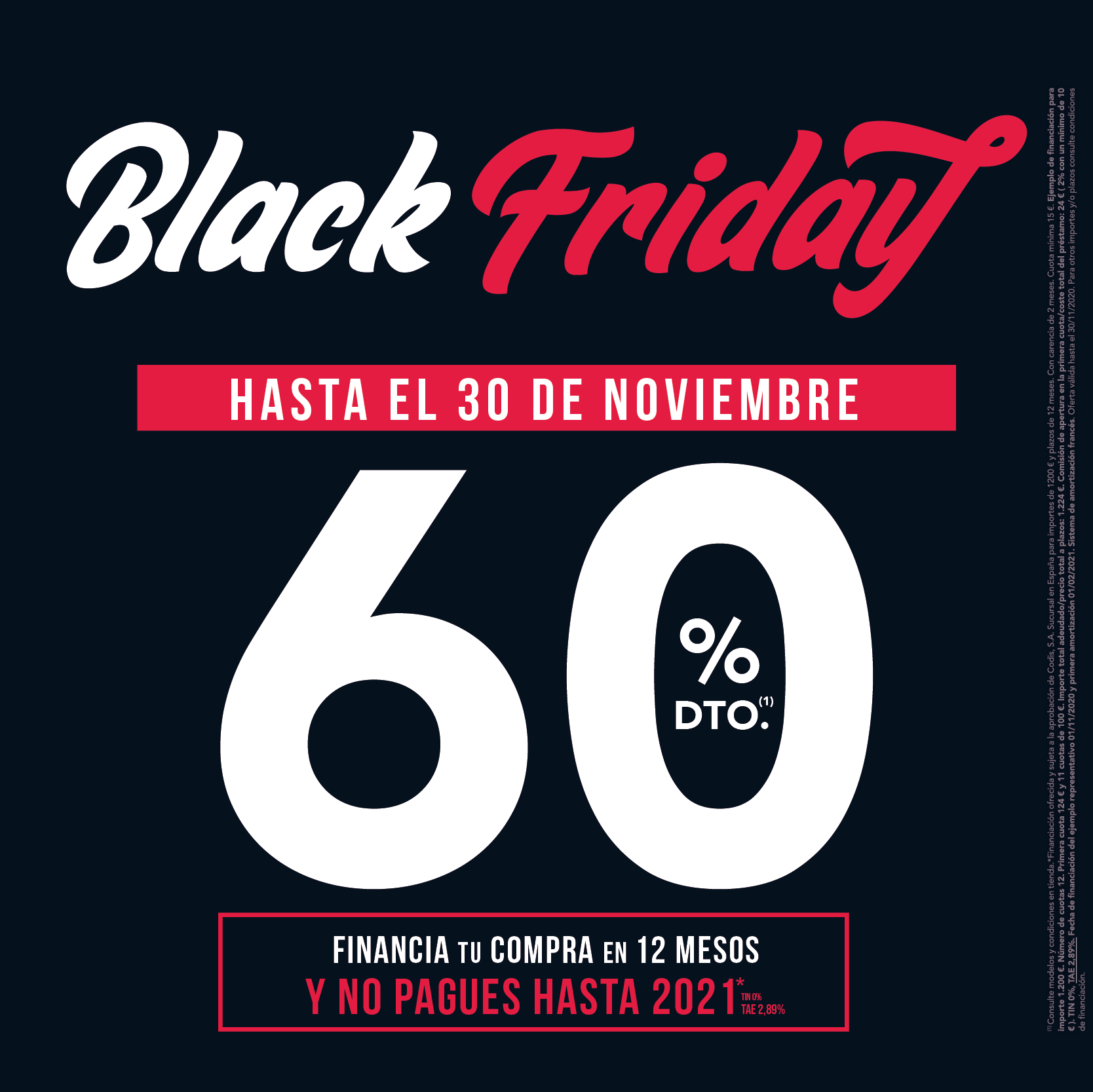 Black Friday Horizzontal 2020